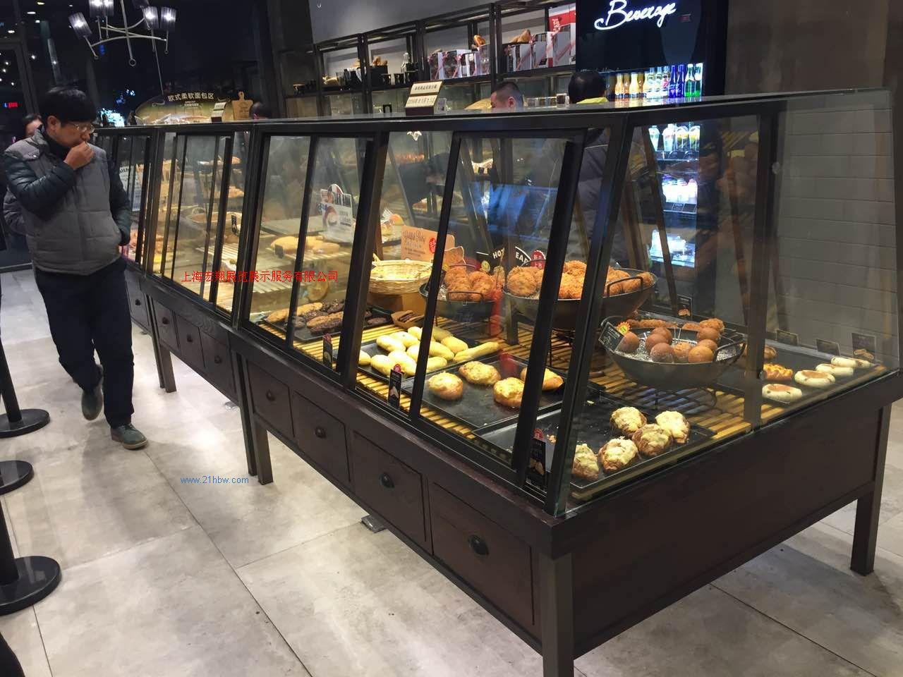 供应新款烘焙展柜(蛋糕柜,面包柜,中岛柜,边柜等)15