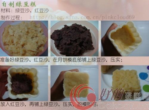 绿豆糕,绿豆沙,红豆沙的配方与制作(家庭版)