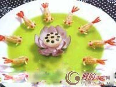 明虾金鱼酥的配方与制作