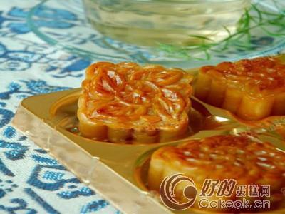 广式蛋黄莲蓉月饼的配方与制作