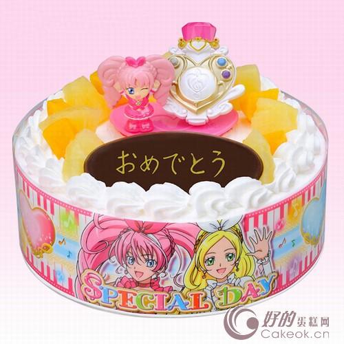 最新:日本玩具公司新推出动画角色蛋糕