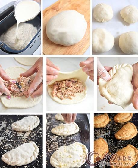 牛肉面包的制作方法图解