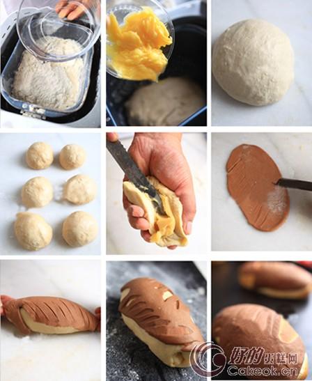 朴素好吃的地瓜面包制作方法
