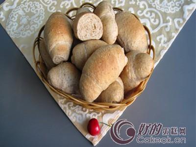 全麦面包卷的配方与制作