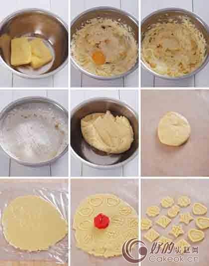 家庭自制卡通diy小饼干制作方法