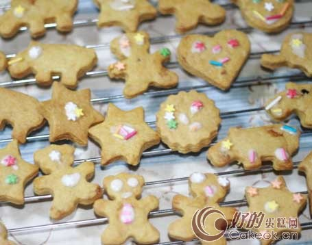 diy动物饼干的制作方法