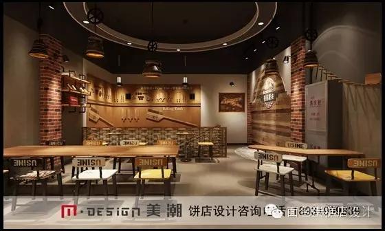 装修设计案例欣赏:壹品麦夫蛋糕店设计 简约不等于简单